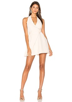 keepsake Modern Things Mini Dress in Blush. - size M (also in S,XS)