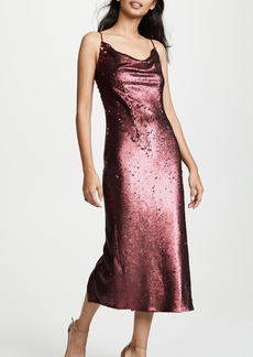 Keepsake No Signs Sequined Midi Dress