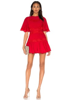 keepsake Only Surrender Mini Dress In Red