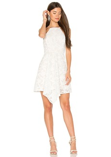 keepsake Plain Sight Mini Dress in Ivory. - size M (also in L,S,XS)