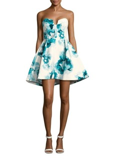 Keepsake Printed Fit-And-Flare Dress