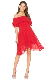 keepsake Seasons Pleated Dress