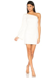 keepsake Signals Mini Dress in Ivory. - size XS (also in S,XXS)