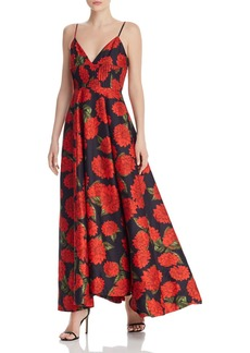 Keepsake Step Aside Floral Gown