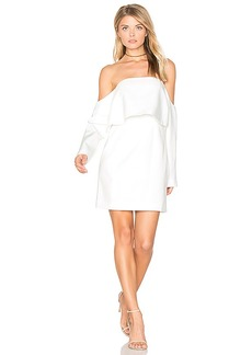 keepsake Stolen Dance Dress in White. - size M (also in S,XS, XXS)