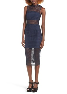 Keepsake the Label All Night Lace Midi Dress