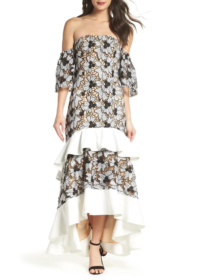Keepsake the Label Break Free Off the Shoulder Gown