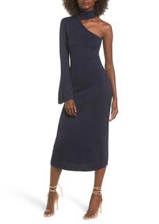 Keepsake the Label Choker One-Sleeve Dress