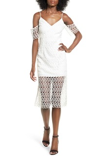 Keepsake the Label Countdown Lace Midi Dres