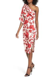 Keepsake the Label Dream On One-Shoulder Dress