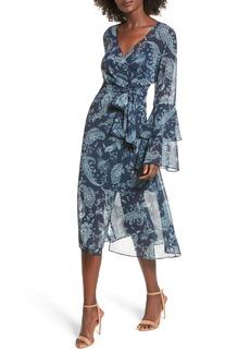 Keepsake the Label Go With It Wrap Midi Dress