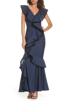 Keepsake the Label Hold On Ruffle Gown