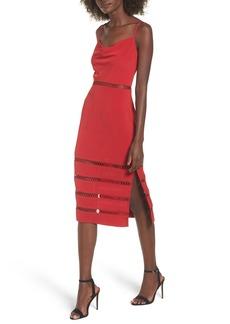 Keepsake the Label Indugle Cowl Neck Sheath Dress