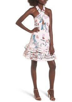Keepsake the Label Indulge Halter A-Line Dress