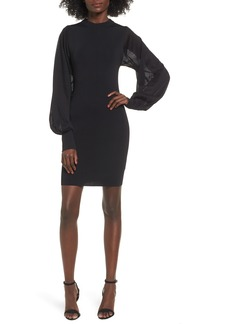 Keepsake the Label Know Me Better Long Sleeve Body-Con Dress