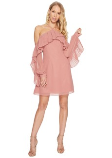 Keepsake Last Dance Long Sleeve Mini Dress