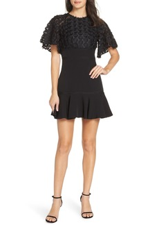 Keepsake the Label Mirrors Lace Popover Minidress