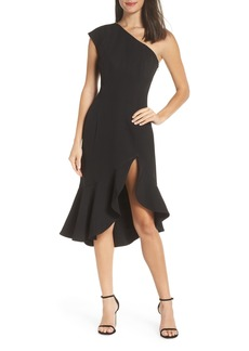 Keepsake the Label Mirrors One-Shoulder Asymmetrical Dress