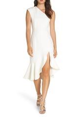 Keepsake the Label Mirrors One-Shoulder Asymmetrical Dress
