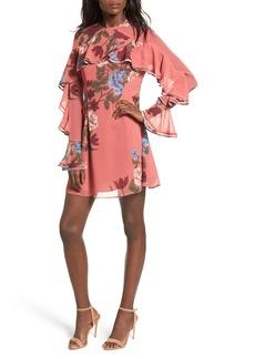 Keepsake the Label Night Lights Ruffle A-Line Dress