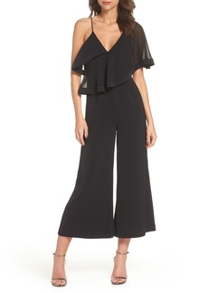 Keepsake the Label No Love One-Shoulder Crop Jumpsuit