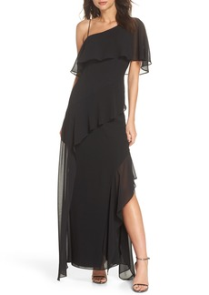 Keepsake the Label No Love One-Shoulder Gown