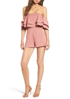 Keepsake the Label No Reason Off the Shoulder Romper