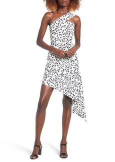 Keepsake the Label Overpowered Asymmetrical Minidress