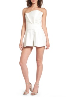 Keepsake the Label Retrograde Strapless Romper