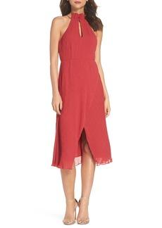 Keepsake the Label Skylines Halter Midi Dress