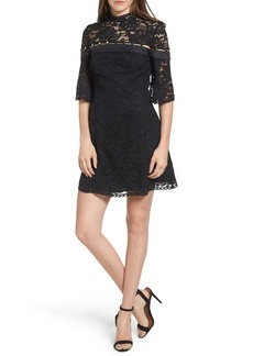 Keepsake the Label Star Crossed Lace Minidress