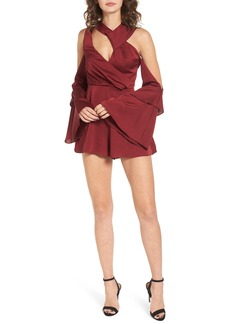 Keepsake the Label Transcend Cold Shoulder Romper