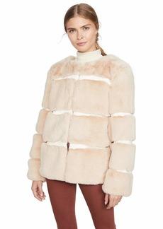 Keepsake The Label Women's Ariel Faux Fur Plush Coat  m