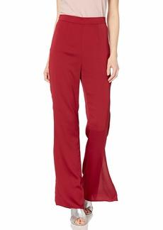 Keepsake The Label Women's Breathe Wide Leg Fitted Dress Pants  s