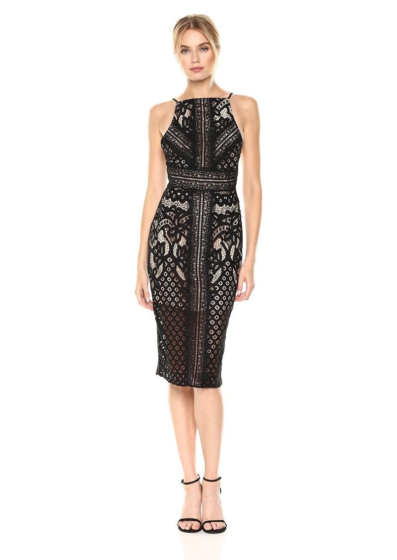 Keepsake The Label Women's Bridges Lace Midi Dress  L