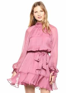 Keepsake The Label Women's Chesire Long Sleeve Blouson Short Dress  S
