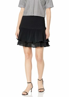 Keepsake The Label Women's Clarity Smocked Ruffle Mini Skirt  s