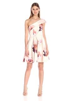 Keepsake The Label Women's Cold-Shoulder Floral Print Mini Dress Light Faded