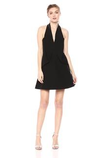 Keepsake The Label Women's Dance with ME Halter Flare Mini Party Dress  L