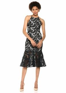 Keepsake The Label Women's Easy Love Sleeveless Lace Contrast Midi Dress  m