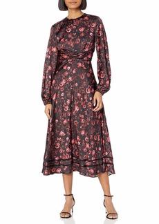 Keepsake The Label Women's Genius Longsleeve Midi Dress  L