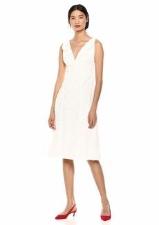Keepsake The Label Women's Harmony Eyelet LACE Sleeveless MIDI Sheath Dress  XS