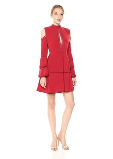 Keepsake The Label Women's Heart Beat Dress red XL