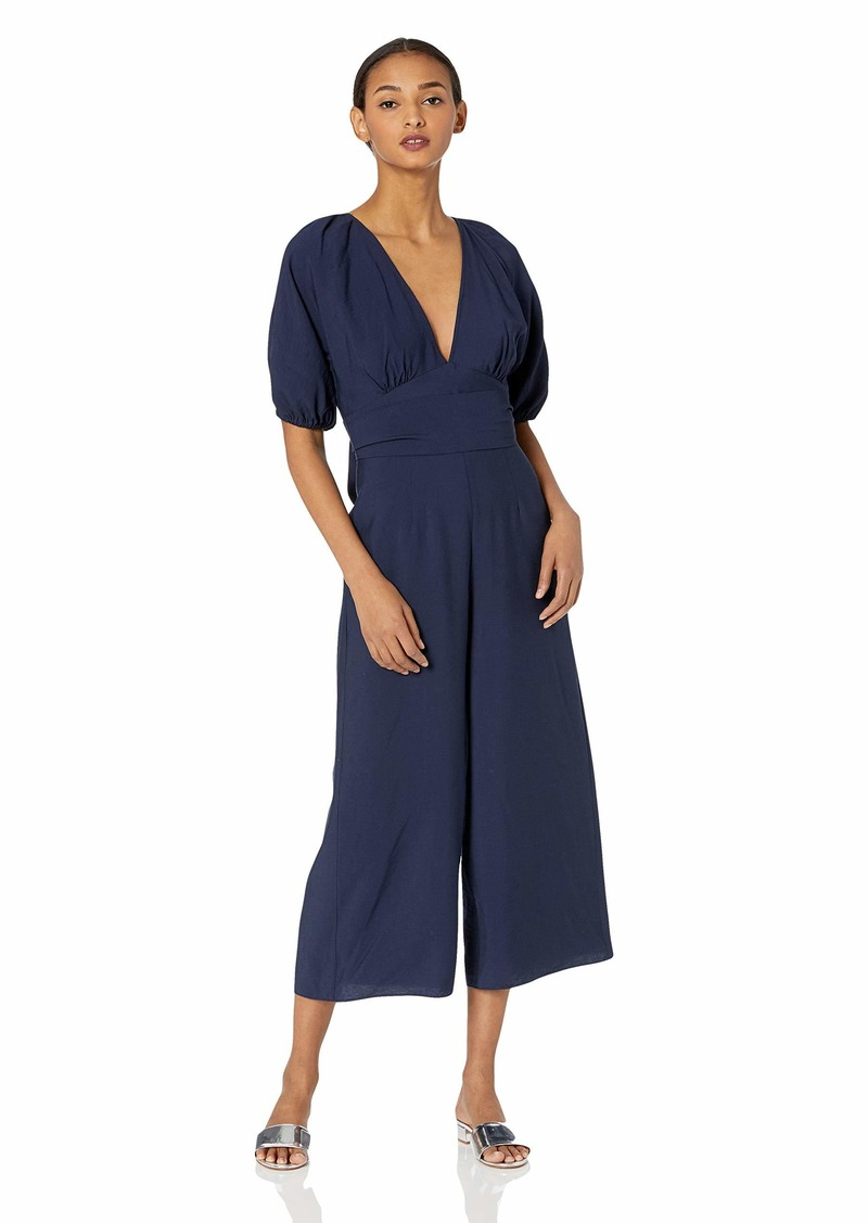Keepsake The Label Women's Luminous Short Sleeve Wide Leg Cropped Jumpsuit  M