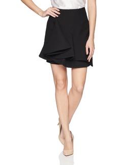 Keepsake The Label Women's Messages Ruffle Hem Mini Skirt  L