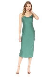 Keepsake The Label Women's Moment Cowl Neck Sleeveless Slip Dress  M