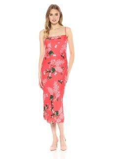 Keepsake The Label Women's Moment Cowl Neck Sleeveless Slip Dress  S