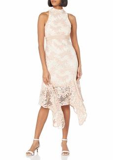 Keepsake The Label Women's No Air Sleeveless Lace Midi Dress  M