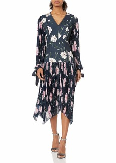 Keepsake The Label Women's Nobody Floral Pleated Midi Dress  S