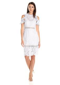 Keepsake The Label Women's Oblivion Lace Midi Dress  XS
